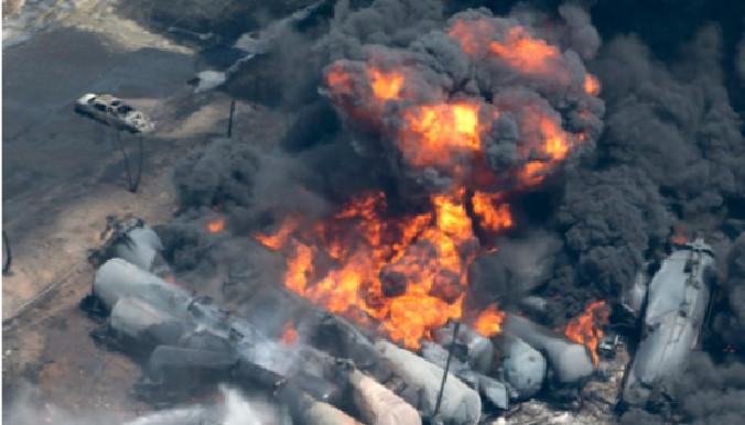 Unit Train Explosion